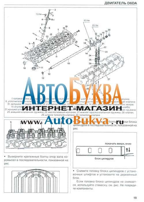 двигатель D6da руководство по ремонту скачать бесплатно - фото 10